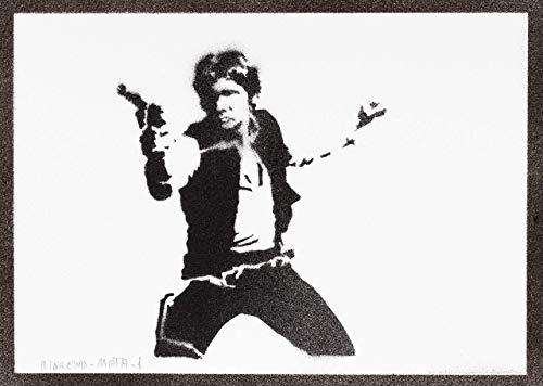 Kostüm Solo Rey - Han Solo STAR WARS Poster Plakat Handmade Graffiti Street Art - Artwork