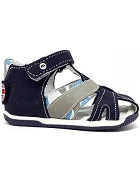 MELANIA Sandalias de Vestir Para Niño Blu Grigio