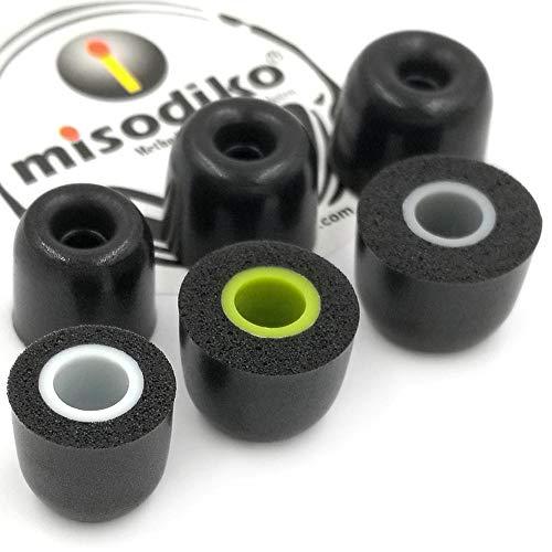 misodiko M550S Memory Foam In-Ear Kopfhörer Ohrpolster