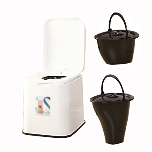 Commode Chaise Toilette Voyage Camping Randonnée Pique-Nique en Plein Air (Couleur : B)