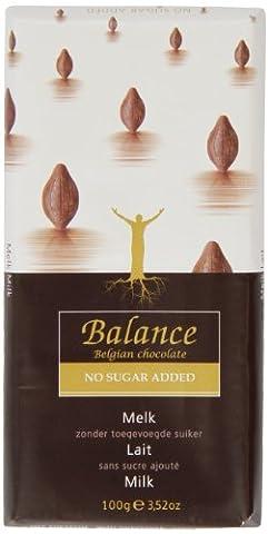 Balance No Added Sugar Milk Chocolate Bar 100 g (Pack of 6)