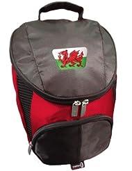 Patriot Wales CRESTED Flame Golf Schuhtasche von ASBRI