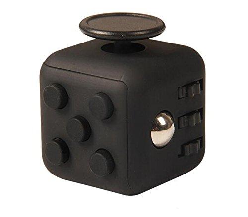 Annein Stresswürfel wie Fidget Cube als perfektes Spielzeug für unterwegs, bei der Arbeit oder im Wartezimmer (C)