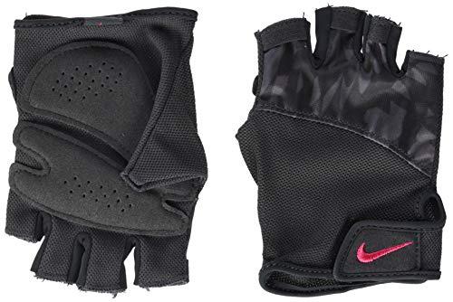 Nike - Guanti da Ginnastica da Donna con Stampa Elemental, 970, Donna, N.LG.D3.970.LG, Multicolore, Taglia U