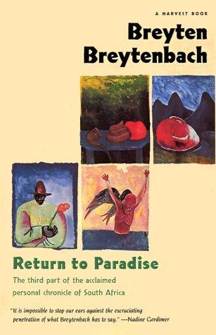 Return To Paradise (Harvest Book) by Breyten Breytenbach (1994-09-28)