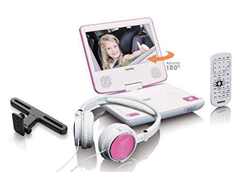 Lenco Wiedergabe: DVD, CD / über USB: MP3, JPEG und MPEG 1, 2, 4