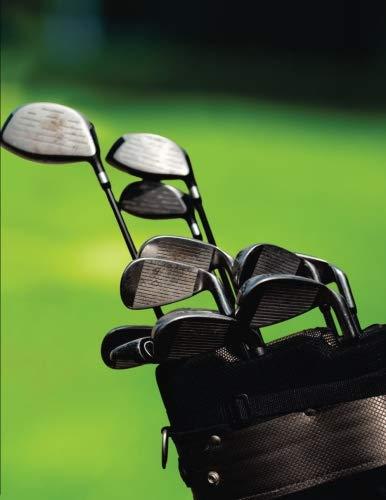 Golf Theme Blank Notebook: Lined Journal for Men por Heather Ross