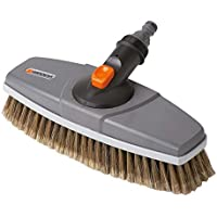 GARDENA Waschbürste: Wasserführende Reinigungsbürste für das Cleansystem, auch für empfindliche Oberflächen und die Autowäsche geeignet (5570-20)