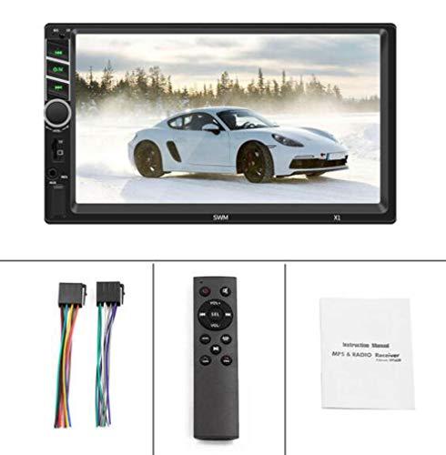 Huashao MP5-Player X1 mit 7-Zoll-High-Definition-Touchscreen, Auto-Player, umgekehrter Mobiltelefonverbindung, Bluetooth-Anruf, Unterstützung für Rückspiegel