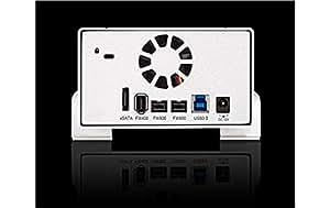 Storeva AluICE XXL Turbo 4 To RAID - USB 3.0, FireWire 400/800, eSATA