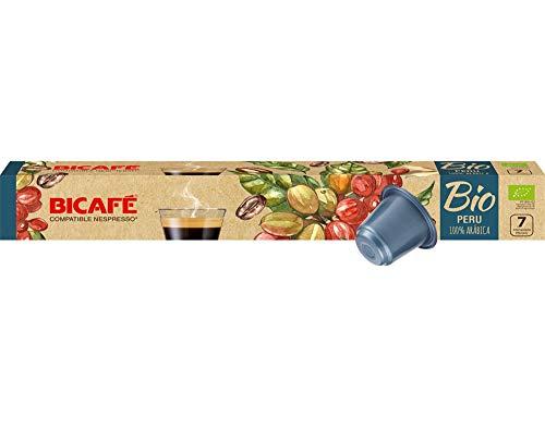 BICAFE - NESPRESSO Compatible - BIO PERU - 8 x 10 kapseln (gesamt: 80 st)