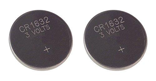 Techtastic 2 x CR1632 chiavi auto allarme Fob a telecomando Unlock batterie inclus