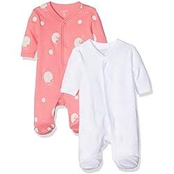 Care Body Para Bebés, Pack de 2 Multicolor (Camellia Rose) 0 - 3 meses (Talla del fabricante: 56)