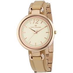 Tom Tailor Damen-Armbanduhr Analog Quarz Leder 5412001
