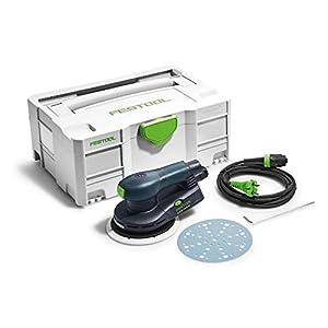 Festool ETS EC150/5 EQ-Plus-Lijadora excéntrica 575042, Negro y verde, Size
