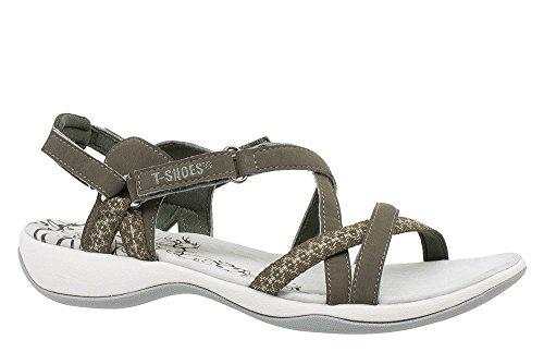 T-Shoes - Canarias TS075 - Sandales Femme Marron