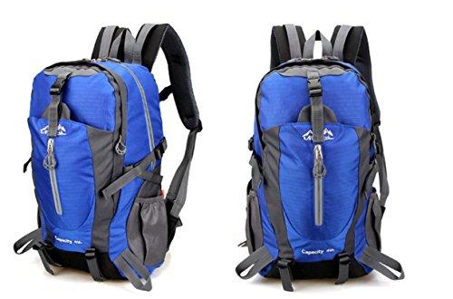 ROBAG Impianto sportivo polivalente esterno impermeabile Zaini alpinismo all'aperto borsa sport viaggio spalla sport borse , green blue