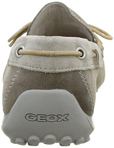 Geox U Snake I - Mocassini Uomo Beige (Taupe/Rockcq65Y)