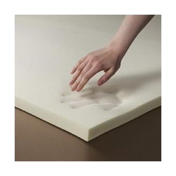 more photos cea02 627da Startextile Cot Bed Memory Foam Mattress Topper 140 x 70 x 2.5cm