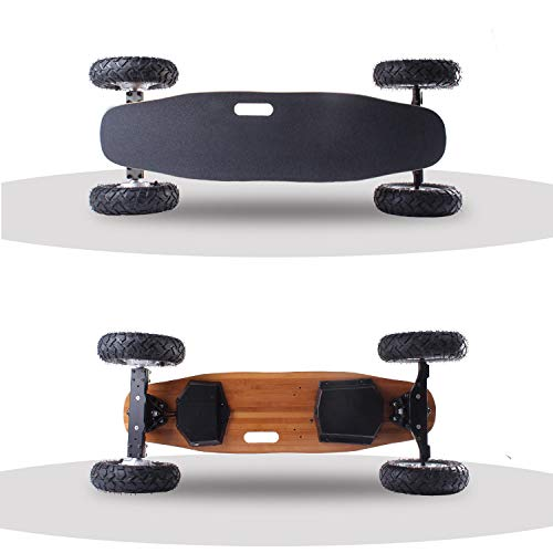 TIKENBST Intelligent Off-Road Electric Skateboard Wireless Remote Control Four-Wheel Electric Skateboard Adult Universal Skateboard -