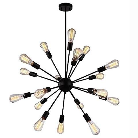Sanyi 15 Head Modern Industrial Satellite Chandelier Pendant Light Fixture Sputnik Lamp Without