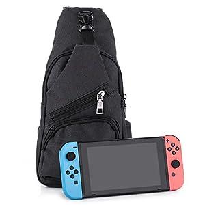 Nintendo Schalter Rucksack, myriann Fashion Rucksack für Nintendo Schalter Elite Player