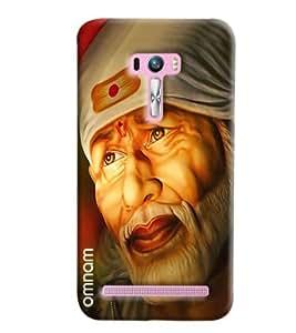 Omnam Devotional Sai Baba Face Printed Designer Back Cover Case For Asus Zenfone Selfie
