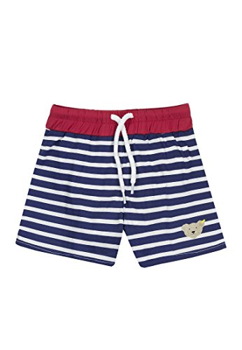 Steiff Collection Jungen, Badeshorts, Schwimmwindel Short, Blau (marine 3032), 62