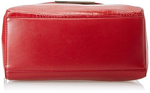 Gaudì Top Handle Bag Linea Audrey, Borsa a Mano Donna, 32 x 16 x 16 cm (W x H x L) Rosso (Red)