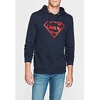 Superman Lacivert Sweatshirt