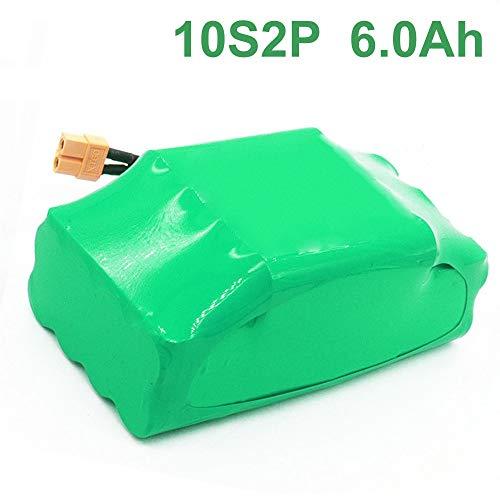 6.0Ah 36V wiederaufladbarer Li-Ionen-Akku für das elektrische Hoverboard-Einrad 10S2P