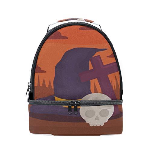 oween Tragbare Schule Schulter Tote Lunchpaket Handtasche Kinder Doppel Lunchbox Wiederverwendbare Isolierte Kühler Für Frauen Student Reise Outdoor ()