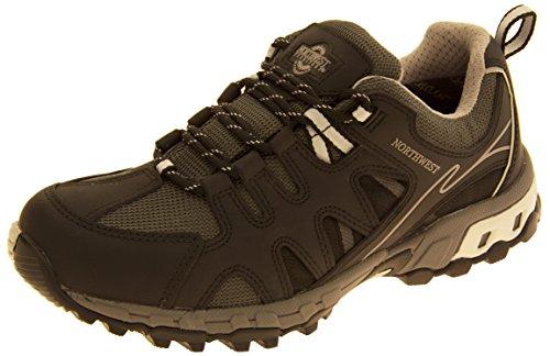 Hommes NORTHWEST TERRITORY Chaussures imperméables en cuir Gris