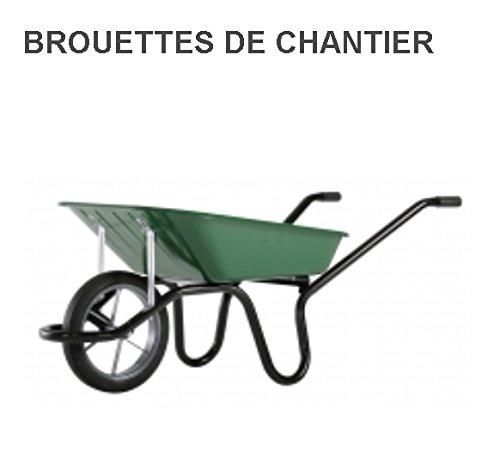 Brouette - Caisse peinte 100L