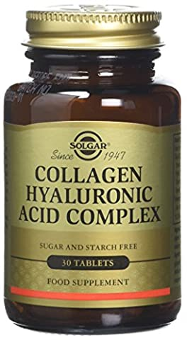 Solgar Collagen Hyaluronic Acid Complex Tablets, 120 mg, 30 Count