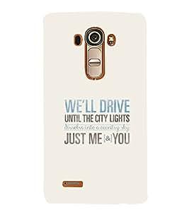 PrintVisa Designer Back Case Cover for LG G4 :: LG G4 Dual LTE :: LG G4 H818P H818N :: LG G4 H815 H815TR H815T H815P H812 H810 H811 LS991 VS986 US991 (Quote Love Heart Messages Crazy Express Sorry )