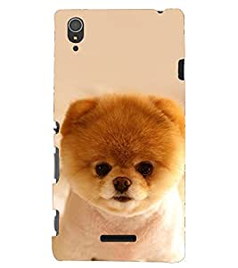 printtech Back Case Cover for Sony Xperia T3