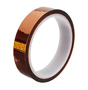 Demarkt 20mm 100ft Heat Resistant 280℃ ruban Polyimide KAPTON Tape Rouleau