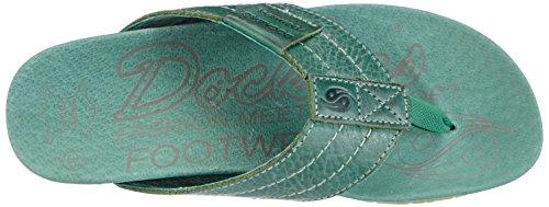 Dockers by Gerli 36BR201-120800 Unisex-Erwachsene Pantoletten Grün (grün 800)