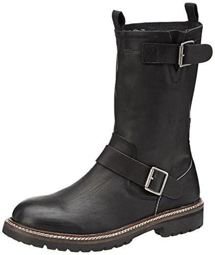 Pepe Jeans London Icon Biker Heritage, Boots homme Noir (999Black)