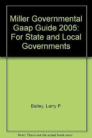 Miller Governmental GAAP Guide W/CD (Governmental GAAP Guide (Miller))
