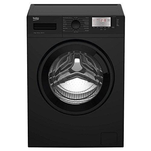 Beko WTG641M1B A+++ Rated 6Kg 1400 Spin Washing Machine in Black 15 Programmes