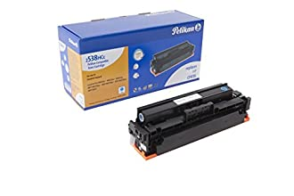 Pelikan Toner 4284273 remplace HP CF411X (pour HP Laserjet PRO M452DN,M452DW,M452NW,MFP M477FDW,MFP M477FDN,MFP M477FNW,MFP M377) cyan