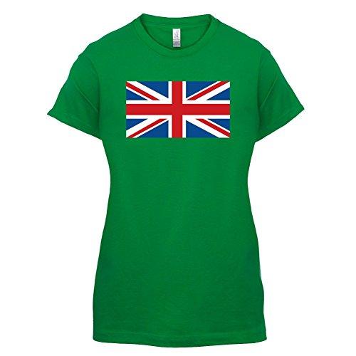 Union Jack Flag - Damen T-Shirt - 14 Farben Grün