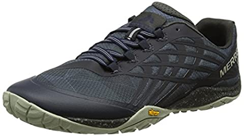 Merrell Glove 4, Chaussures de Trail Homme, Bleu (Navy) , 45 EU (10.5 UK)