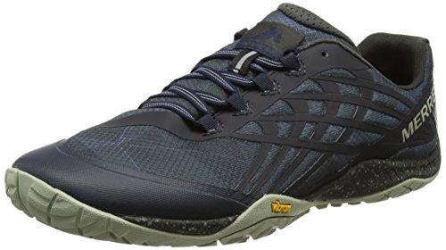 Merrell Trail Glove 4, Zapatillas de Correr Para Hombre, Azul (Navy), 49 EU