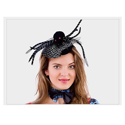 Queen Kind Kostüm Spider - ZHLJ Halloween Requisiten Haarschmuck Kopfschmuck Parodie Spinne Kinder (10 Stück) Maske