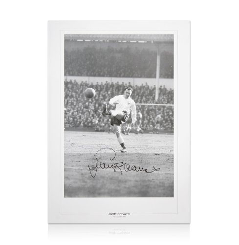 Hand-Signed-Jimmy-Greaves-Spurs-Print