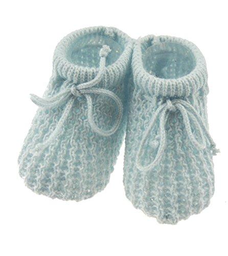 Épaiss'en tricot pour nouveau-né et bébé - Bleu