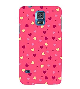 Classic Love Wallpaper 3D Hard Polycarbonate Designer Back Case Cover for Samsung Galaxy S5 Mini :: Samsung Galaxy S5 Mini G800F
